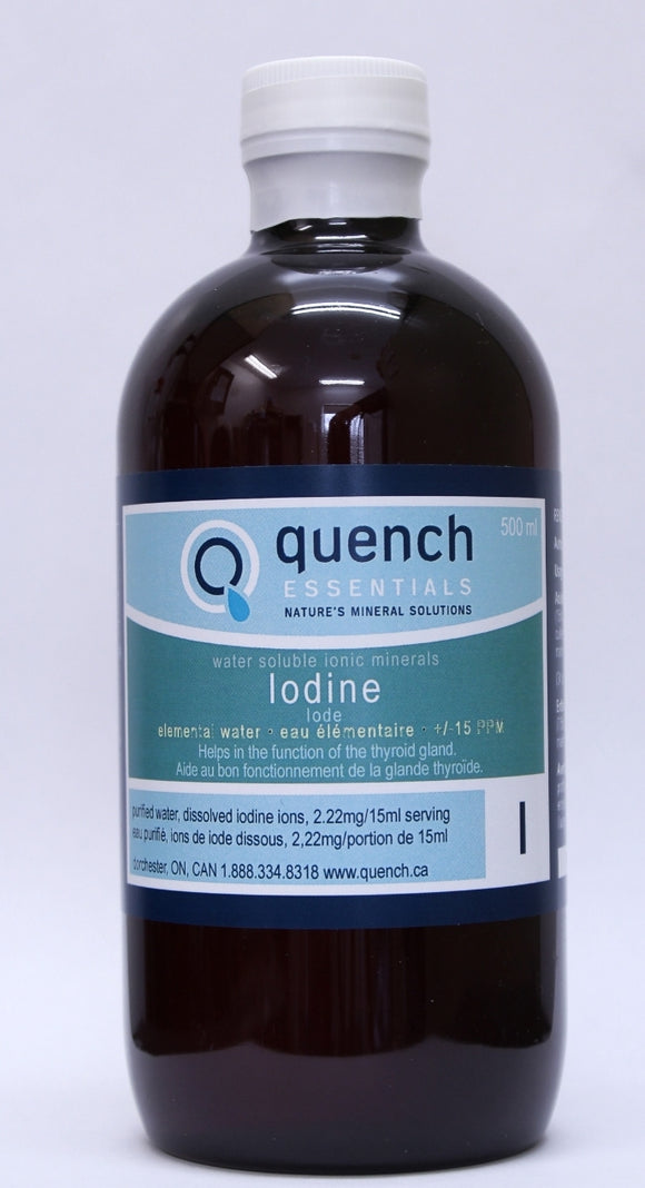 Quench Essentials Iodine 15 liquid 500ml