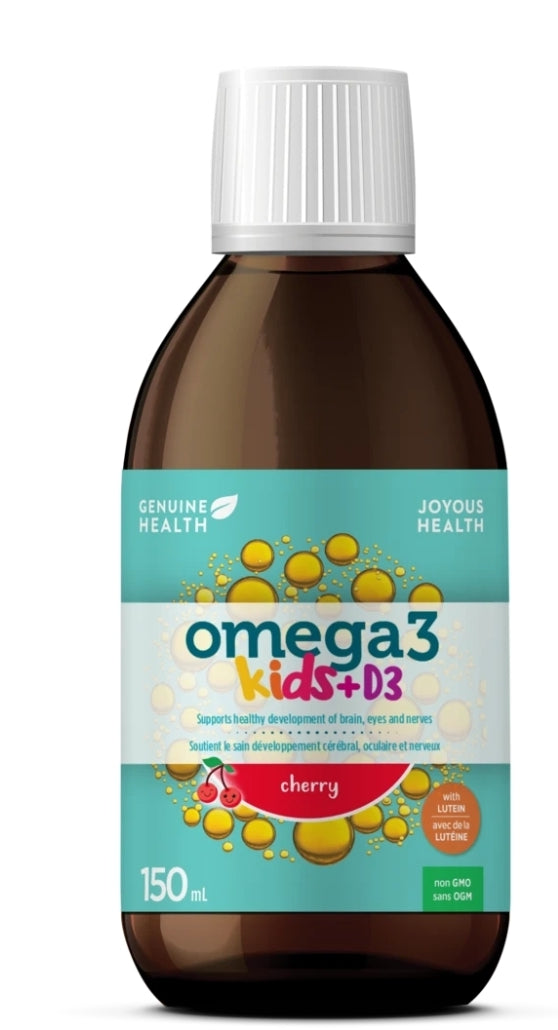 Genuine Health omega 3 Kids Cherry Fish Oil 150ml
