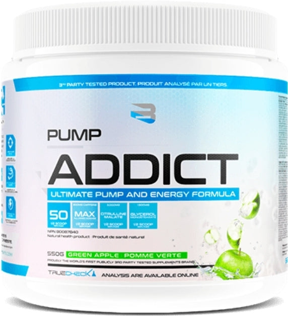 Believe Pump Addict Pre Workout 550g