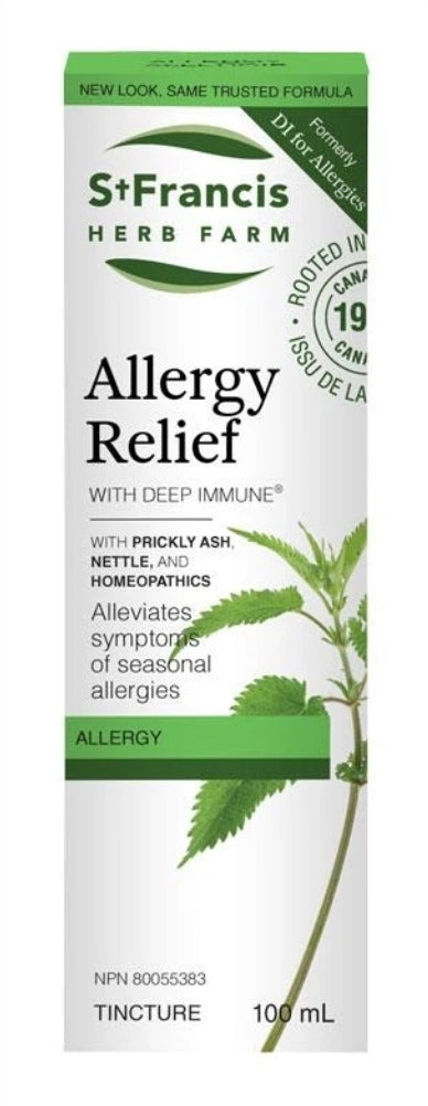 St. Francis Allergy Relief Tincture (formerly Deep Immune for Allergies)