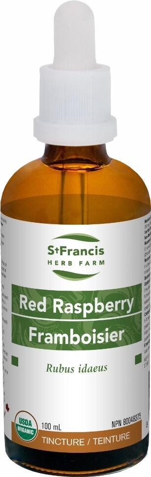 St. Francis Red Raspberry Leaf Tincture 50ml
