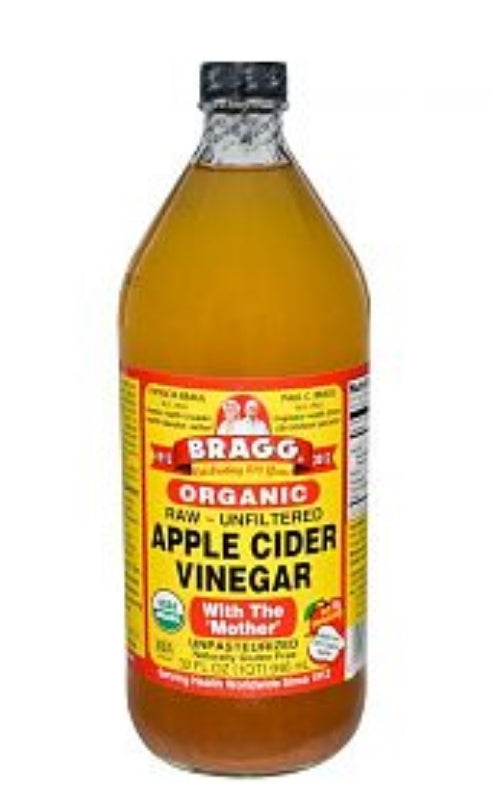Bragg's Apple Cider Vinegar GLASS jars - pickup only or London Local delivery