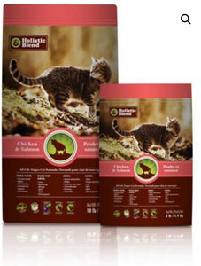 Holistic Blend All Life Stages Chicken and Salmon Cat Food 4.53kg