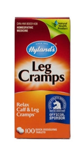 Hyland's Homeopathic Leg Cramps 100's