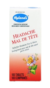 Hyland Homeopathic Headache 100's