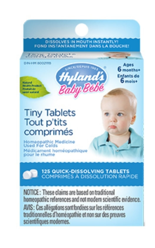 Hyland Homeopathic Baby Tiny Cold Tablets 125's