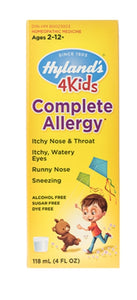 Hyland Homeopathic 4 Kids Complete Allergy Formula 4oz liquid