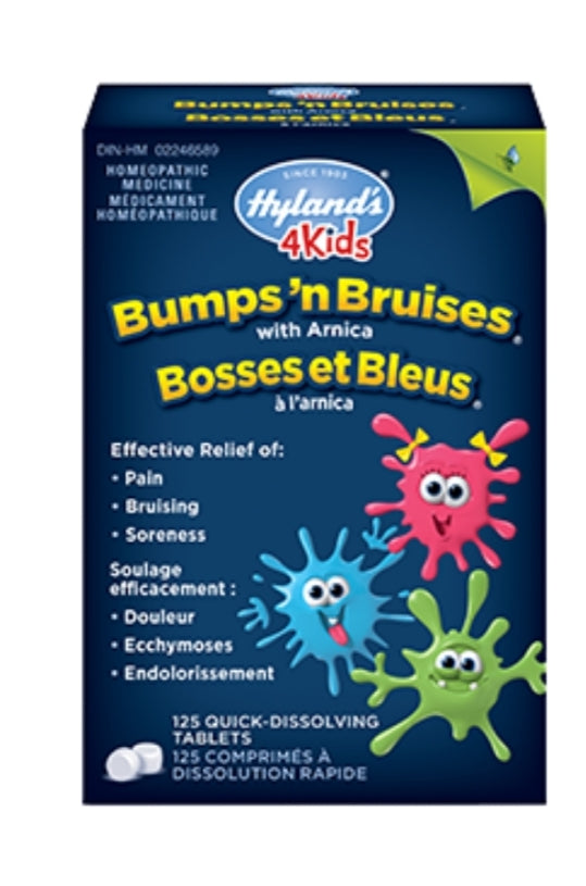 Hyland Homeopathic 4 Kids Bumps n' Bruises with Arnica 125's