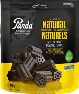 Panda Natural Licorice 170g