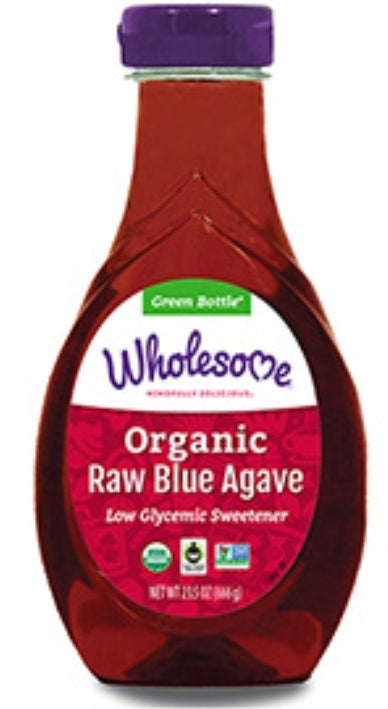 Organic Raw Blue Agave Syrup 480ml