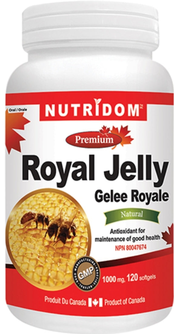 Nutridom Royal Jelly 120's