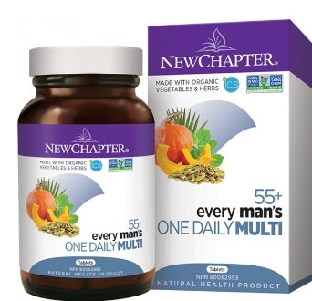 New Chapter Every Man's One Daily 55+    48 tablets