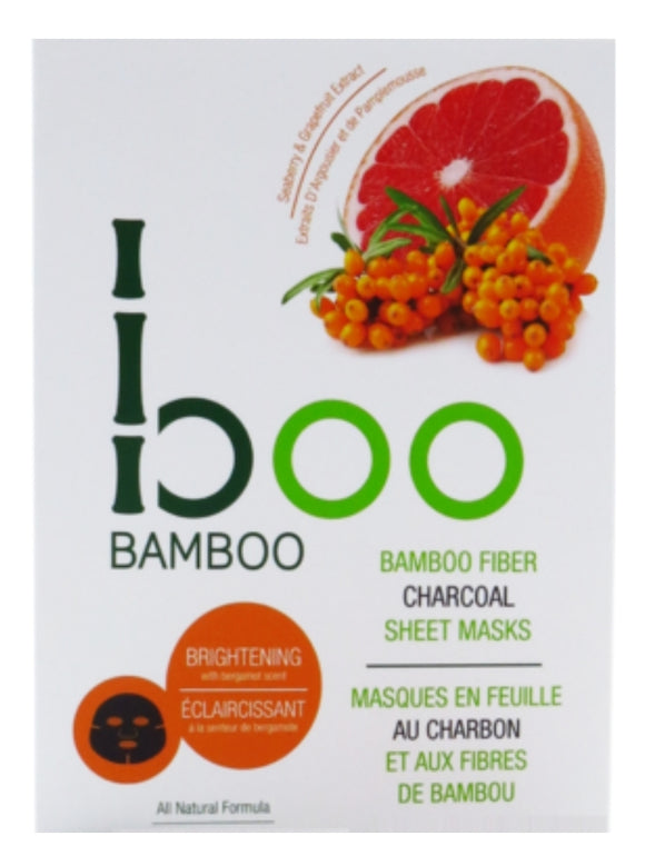 Boo Bamboo Brightening Face Mask Pack of 3