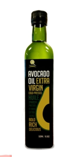 Pure Cold Pressed Avocado Oil 500ml