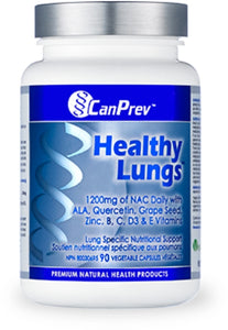 CanPrev Healthy Lungs Formula 90's