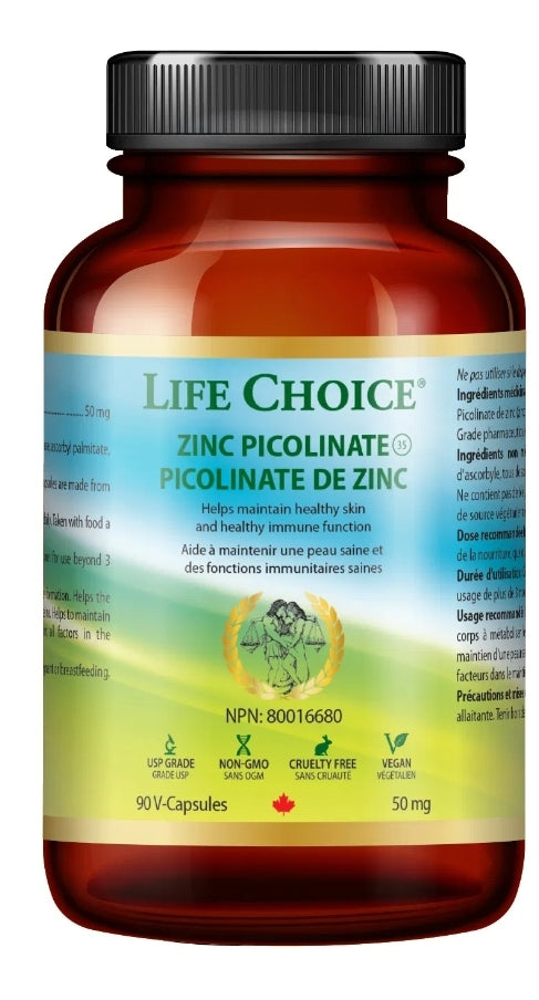 Life Choice Zinc Picolinate 50mg