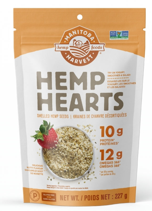 Manitoba Harvest Hemp Hearts Raw, Shelled 227g