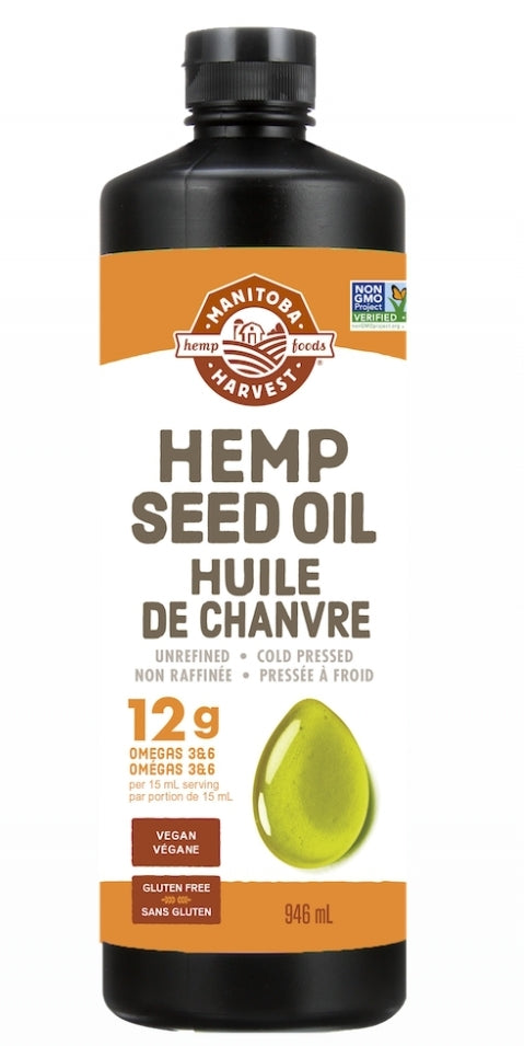 Manitoba Harvest Hemp Oil 946ml