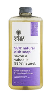 Nature Clean Dishwashing Liquid Unscented 1.5 litres