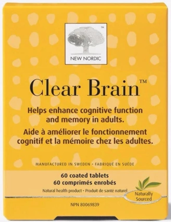 New Nordic Clear Brain 60's