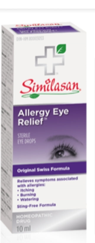 Similisan All Natural Eye Relief Drops 10ml