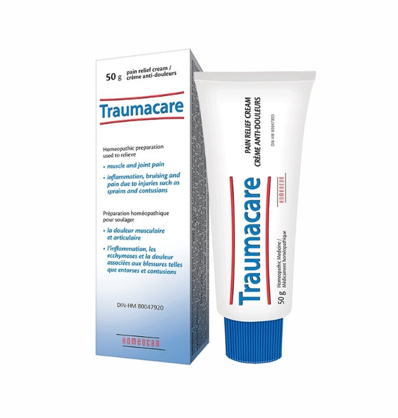 Homeocan Traumacare Pain Relief Cream 50g