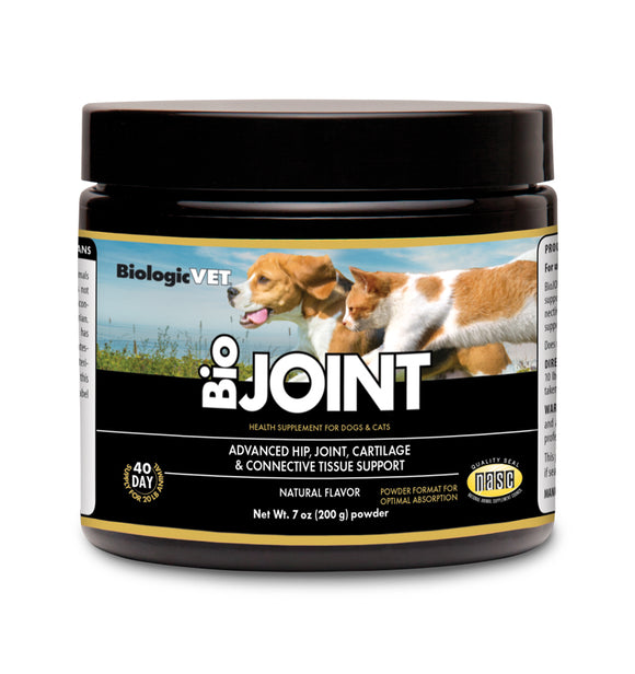 BiologicVet BioJoint Advanced Joint Mobility Natural Dog and Cat