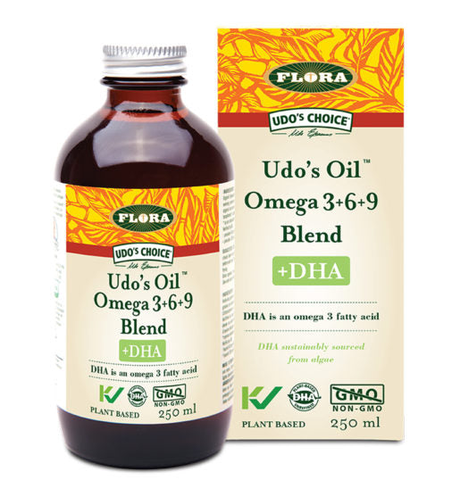 Udo's Oil™ Omega 3•6•9 Blend +DHA 500mL