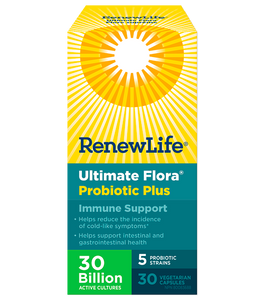 RenewLife Ultimate Flora Plus Immune Support 30's