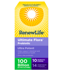 RenewLife Ultimate Flora Ultra Potent 100 Billion 30's
