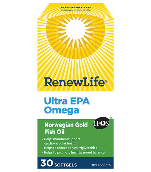 RenewLife Norwegian Gold Ultra EPA Fish Oil 30's