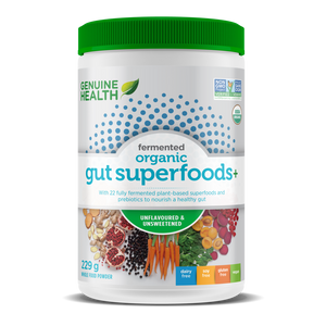 Genuine Health Fermented Organic Gut Superfoods+  229-273g