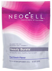 NeoCell Collagen Beauty Bursts soft chews 60ct Fruit Punch