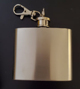 2oz Keychain Flask