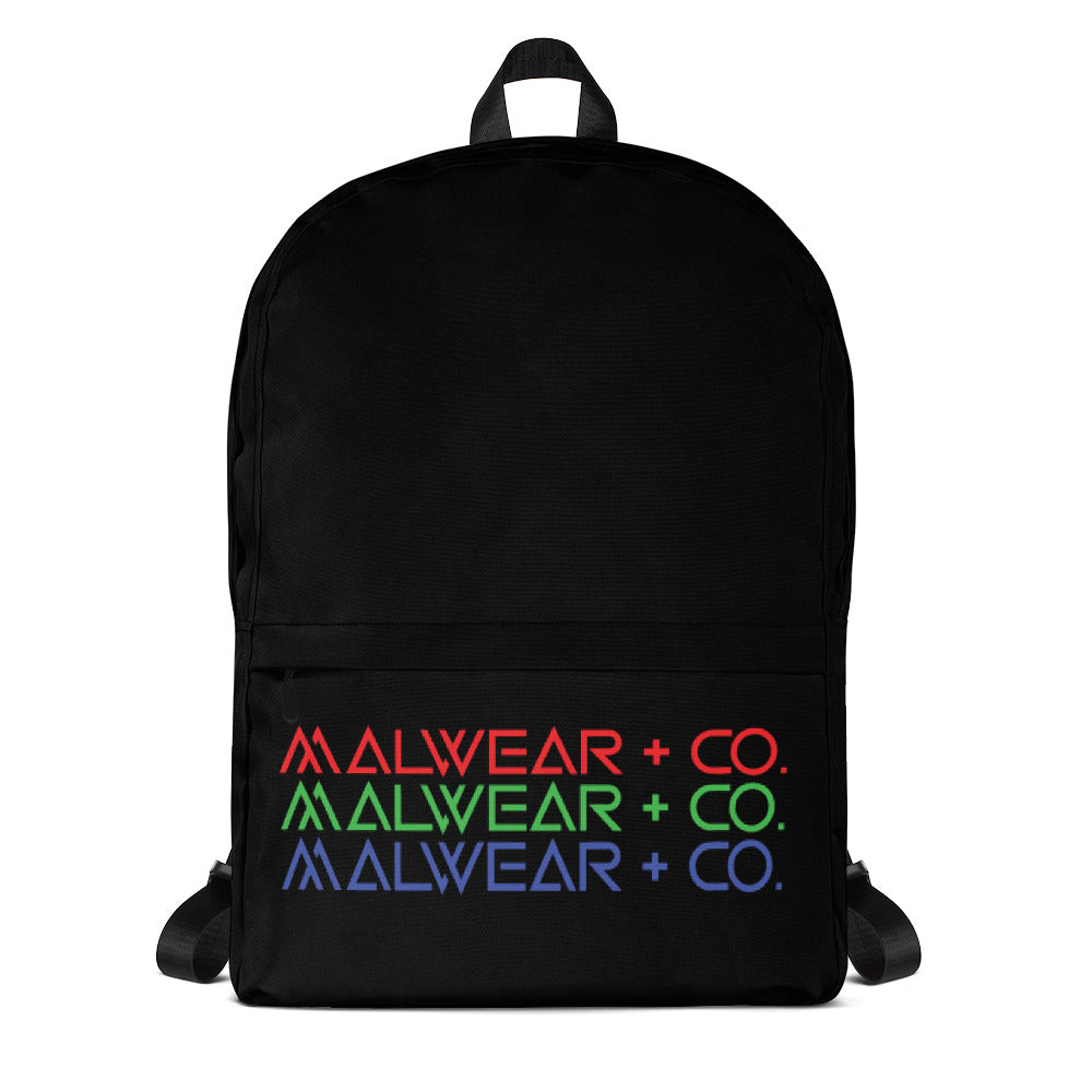RGB Backpack-Malwear + Co-Malwear + Co