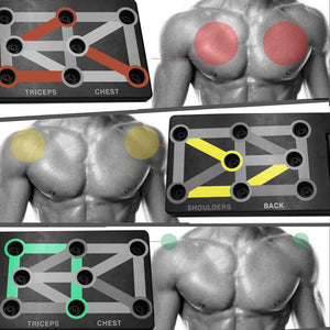 TFH™ 9 in 1 Push Up Rack Board