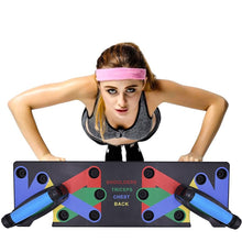 Load image into Gallery viewer, TFH™ 9 in 1 Push Up Rack Board