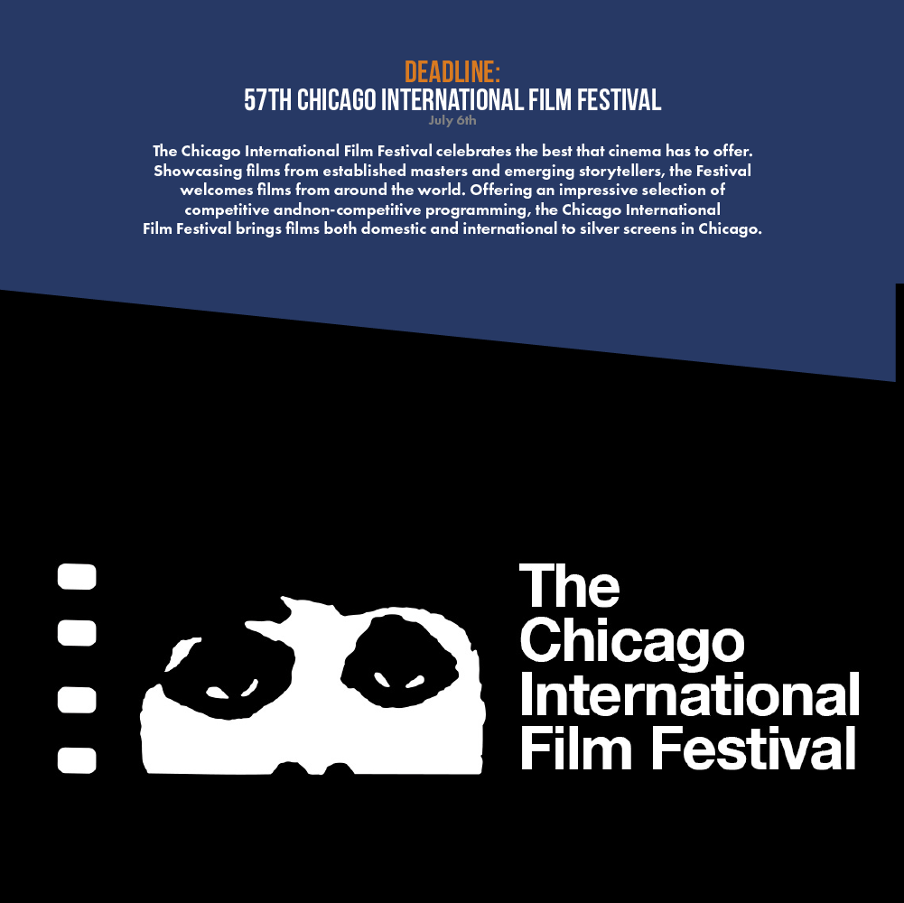 The Chicago International Film Festival celebrates the best that cinema has to offer. Showcasing films from established masters and emerging storytellers, the Festival welcomes films from around the world. Offering an impressive selection of competitive and non-competitive programming, the Chicago International Film Festival brings films both domestic and international to silver screens in Chicago.