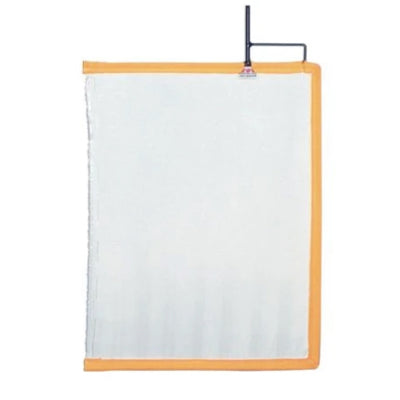 "18""X24"" White Artificial Silk Flag"