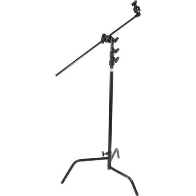 "Matthews C-Stand With Gobo Head & 40"" Arm (Black, Sliding Leg)"