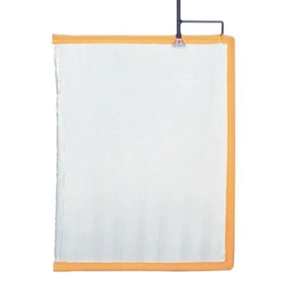 "24""X30"" White Artificial Silk Flag (Scrim)"