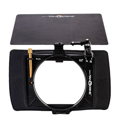 Bright Tangerine Misfit Atom Ultra Lightweight 2-Stage Clip On Matte Box