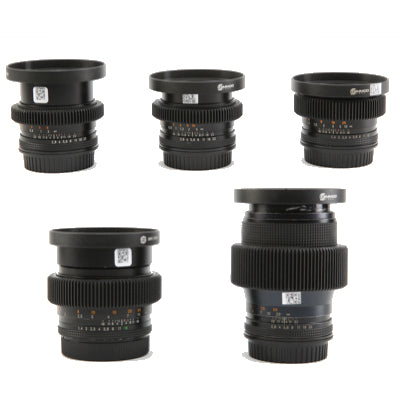 Zeiss EF Contax (5) Prime Lens Set