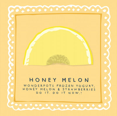 """WONDERPOTS HONEY MELON"" Leinwandbild N°28"
