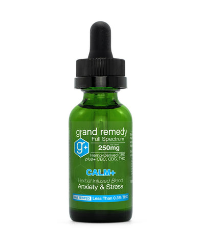Image of Closeout Calm CBD Tincture - 70% Off