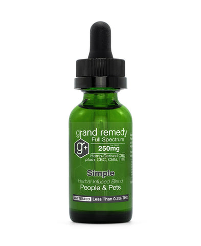 Closeout Simple CBD Tincture - 70% Off