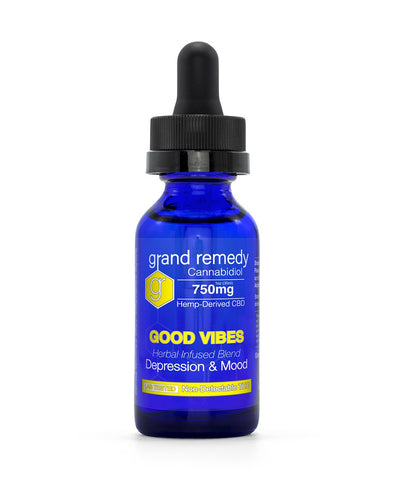 Closeout Good Vibes CBD Tincture - 70% Off