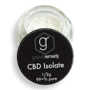 Grand Remedy Pure CBD Isolate
