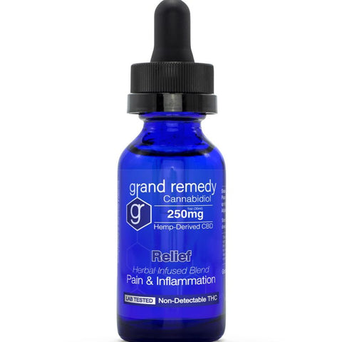 Image of Closeout Relief CBD Tincture - 70% Off