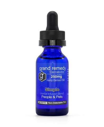 Image of Closeout Simple CBD Tincture - 70% Off